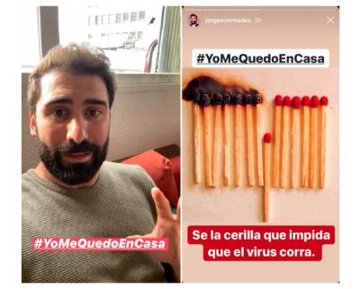 #YoMeQuedoEnCasa, campaña que apela a la responsabilidad ante el coronavirus