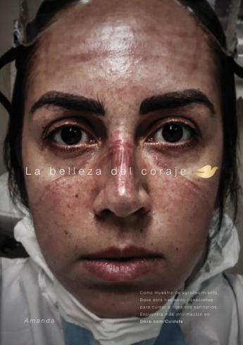 #LaBellezadelCoraje: Dove rinde homenaje a los sanitarios españoles