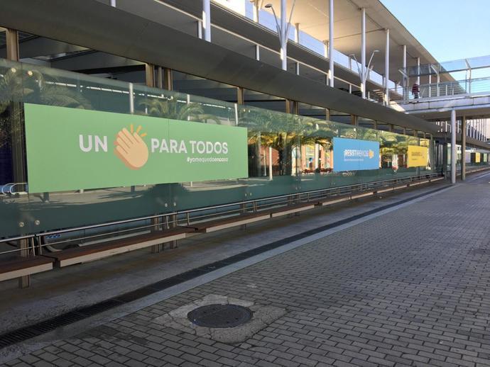 Garaje de Ideas llena IFEMA de mensajes positivos para sanitarios y pacientes