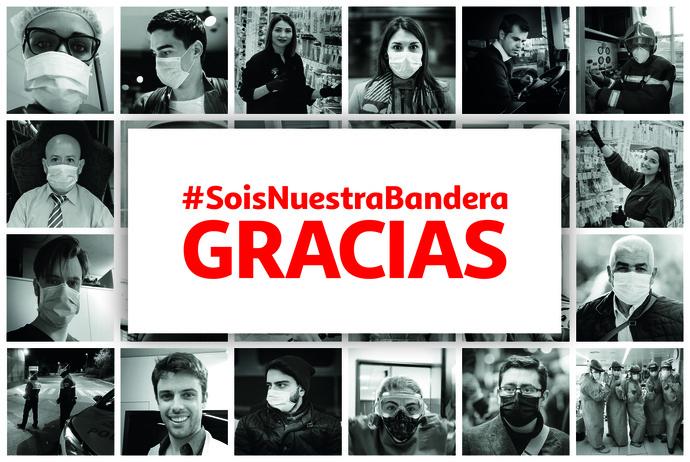 #SoisNuestraBandera el homenaje de Alcampo en estos tiempos de crisis