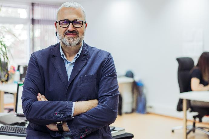 Nacho Azcoitia, director general comercial de Prensa Ibérica.