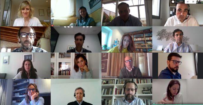 Una instantánea del coloquio celebrado por IPMARK con las agencias de medios pertenecientes a grandes grupos multinacionales.