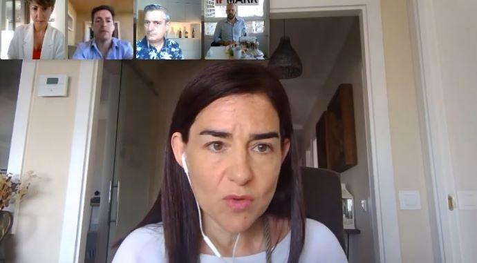 Mar García, presidenta de AEVEA, planteó cómo agencias y clientes pueden reactivar, juntos, el sector de los eventos.