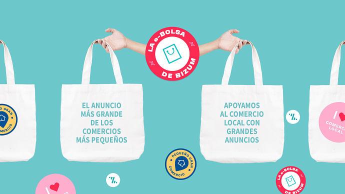 Bizum apoya al comercio local cediendo espacio publicitarios en internet
