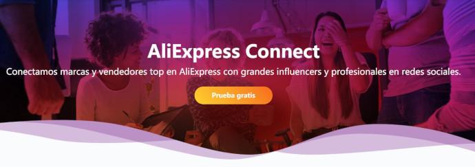 AliExpress lanza AliExpress Connect, una plataforma destinada a creadores de contenido