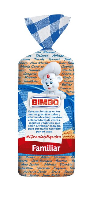Bimbo ha querido rendir un homenaje a todos sus colaboradores con un nuevo pack de su pan de molde