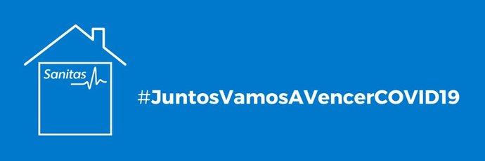 Sanitas activa junto a Ymedia #JuntosVamosAVencerCOVID19