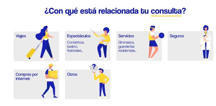 COVID-19. Consumo lanza una web de asistencia para reclamaciones