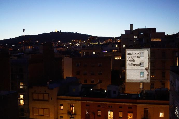 """Raúl Goñi (Public Protest Poster): """"Las marcas dominan el espacio público y no hay hueco para la gente"""""""