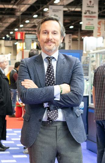 Óscar Barranco, nuevo director de los salones Empack y Logistics Iberia
