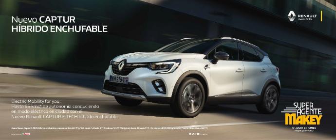 Renault sortea el primer 'Test Drive' para el estreno de SuperAgente Makey