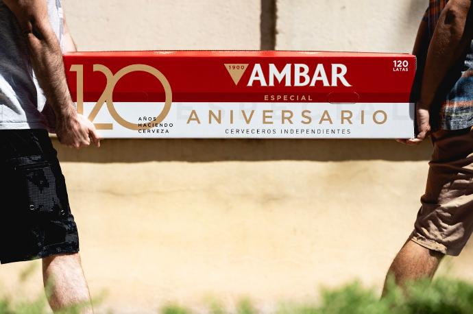 120 años del nacimiento de Cervezas Ambar