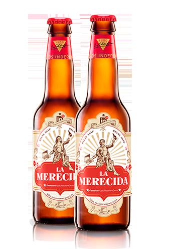 La Merecida, la cerveza que homenajea el sector del marketing y de la comunicación