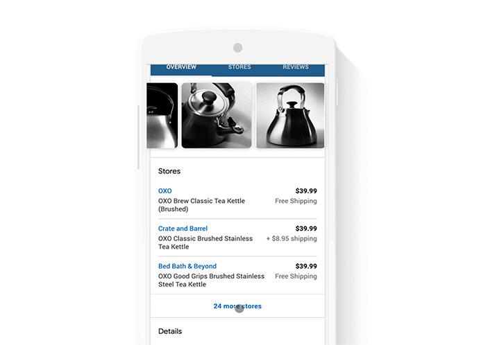 Google publicará listas de productos gratuitos en los resultados de búsqueda