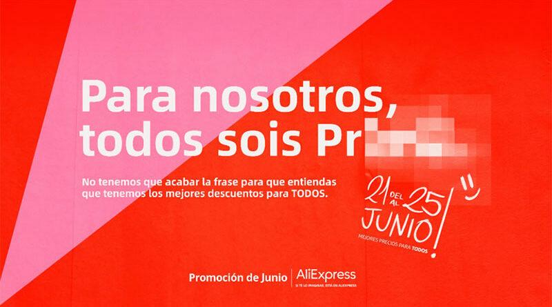 AliExpress activará más de 30 'liveshopping' para su campaña de descuento