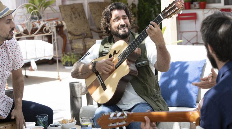 Antonio Orozco pone melodía a los Rodolfos de Pescanova