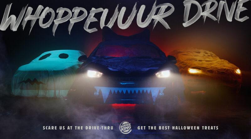 Campaña Whoppeuuur Drive de David para Burger King