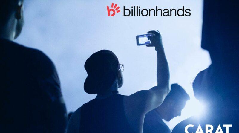 Carat llevará la gestión publicitaria de Billionhands