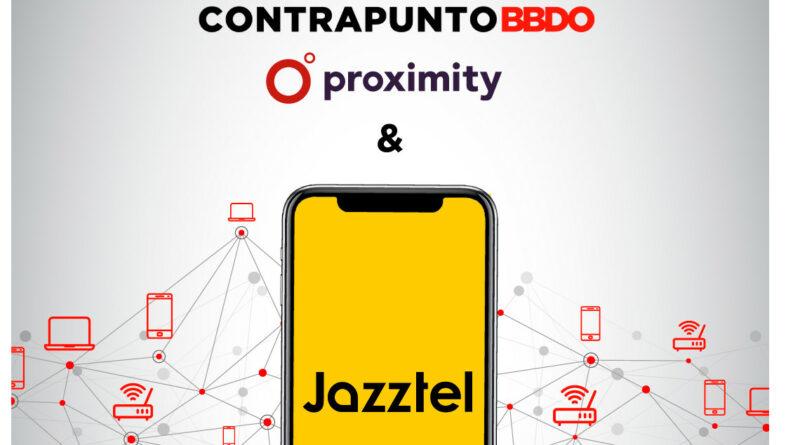Jazztel confía a Contrapunto BBDO y Proximity su estrategia de comunicación integral