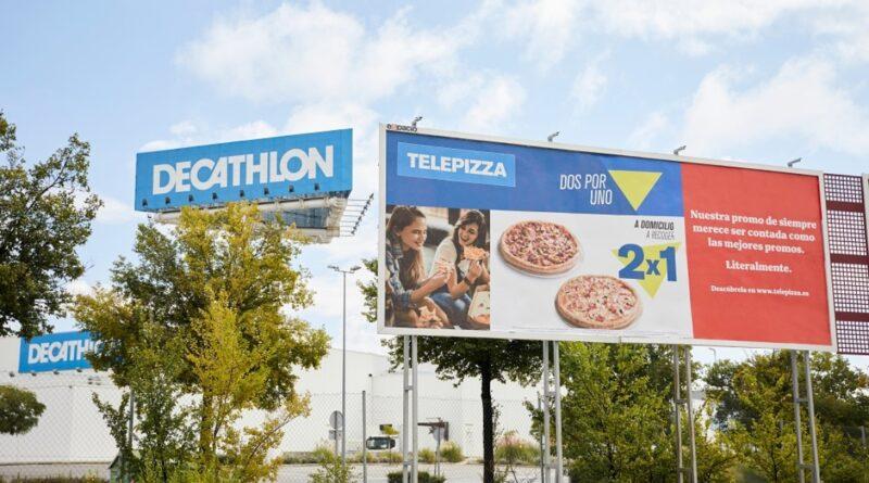 Telepizza «imita las mejores promos» en su nueva campaña