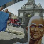 Don Limpio deja listos 'en una pasada' los lugares más emblemáticos de Madrid