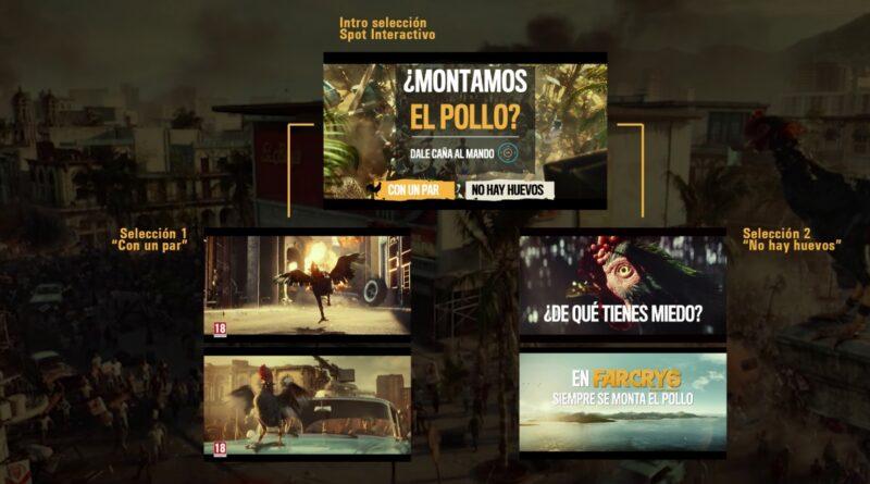 Ubisoft lanza por primera vez un anuncio donde construir tu propio final
