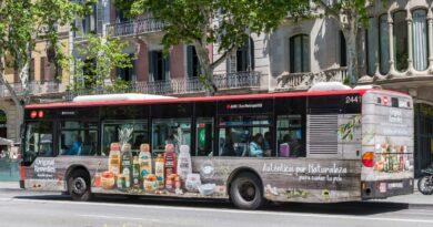 Promedios seguirá gestionando la publicidad de los autobuses de Barcelona