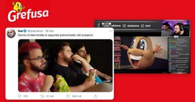 Grefusa se lanza al gaming, nuevo patrocinador de Ibai Llanos