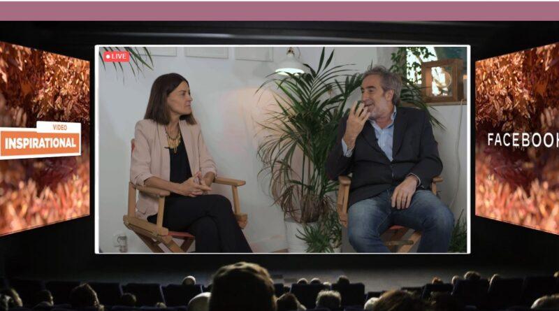 Cristina Burkazo, directora de marketing y comunicación de Telefónica, y Rodrigo Figueroa Reyes, CEO de FCBandFire