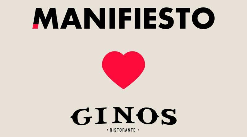 Ginos confía en Manifiesto para su reposicionamiento de marca