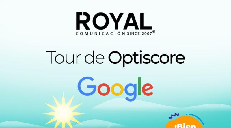 """Royal Comunicación consigue el 2º puesto en el """"Tour de OptiScore"""" organizado por Google"""