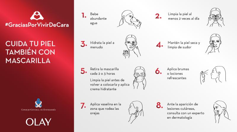 #GraciasPorVivirDeCara, la campaña de Olay sobre el cuidado de la piel en tiempos de Covid