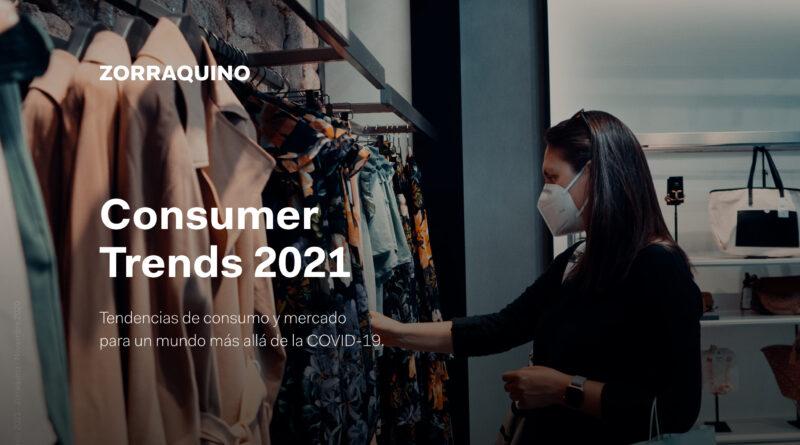Informe Consumer Trends 2021 de Zorraquino