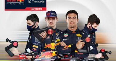 El equipo Red Bull Racing tiene nuevo patrocinador: Therabody