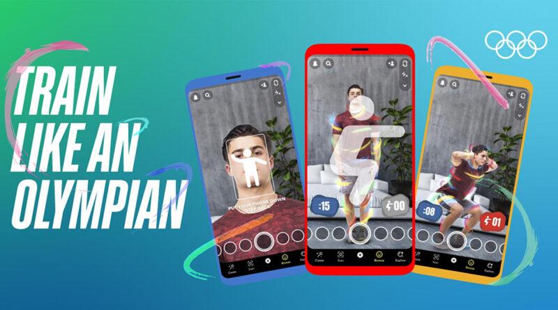 Snapchat lanza una lente de realidad aumentada para disfrutar aún más de Tokio 2020