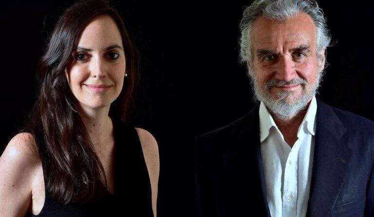 Andrea Monge, consejera delegada de Rebold, y Fernando Rodés, presidente ejecutivo de ISP.