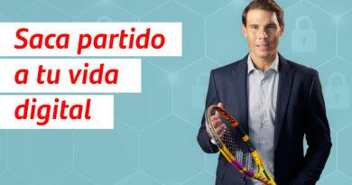 Banco Santander y Rafa Nadal ayudan a los usuarios en temas de ciberseguridad