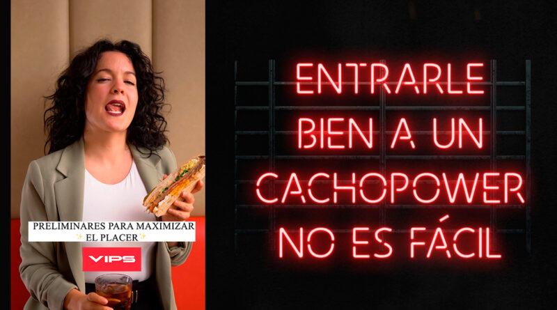 Noemí Casquet, protagonista de la última campaña de VIPS en RRSS