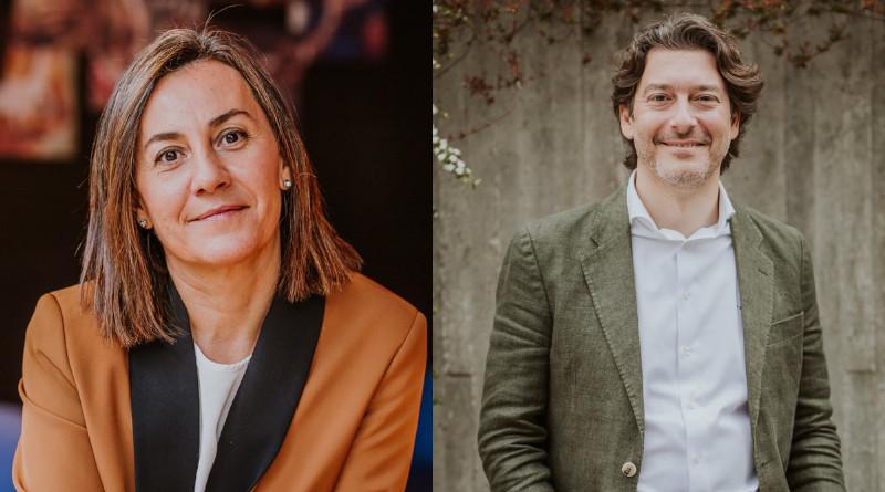 (De izq. a der.) Natalia González-Valdés y Pedro Fernández