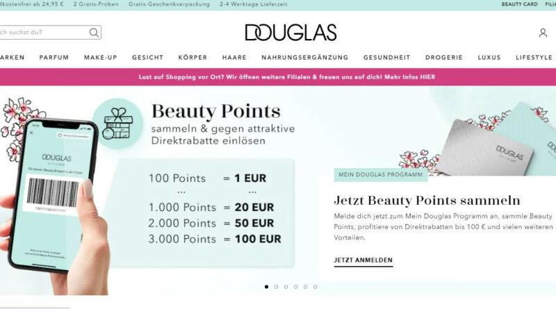 Douglas avanza en retail media. Añade más formatos en su web y app