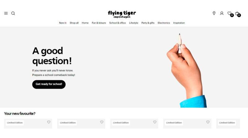 Flying Tiger Copenhagen lanza su ecommerce en España