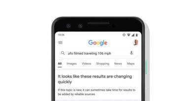 Google añadirá un aviso en los resultados de búsqueda para noticias de última hora