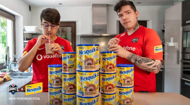 Nesquik, nuevo patrocinador principal de Vodafone Giants