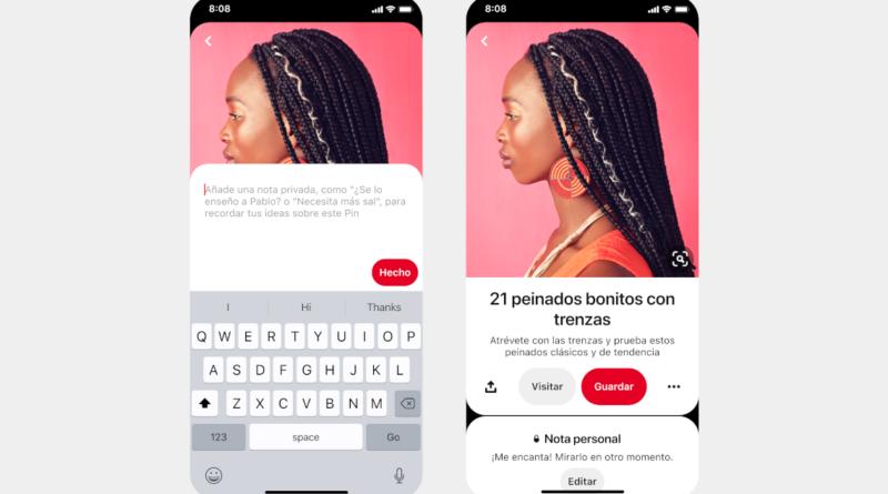 Agrupación automática o notas en pines, entre las novedades de Pinterest