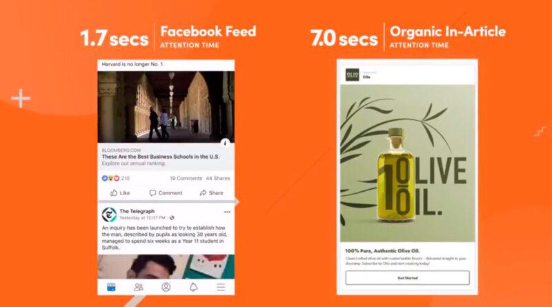 Outbrain Unveil. Nuevos formatos publicitarios para atraer a nuevos usuarios