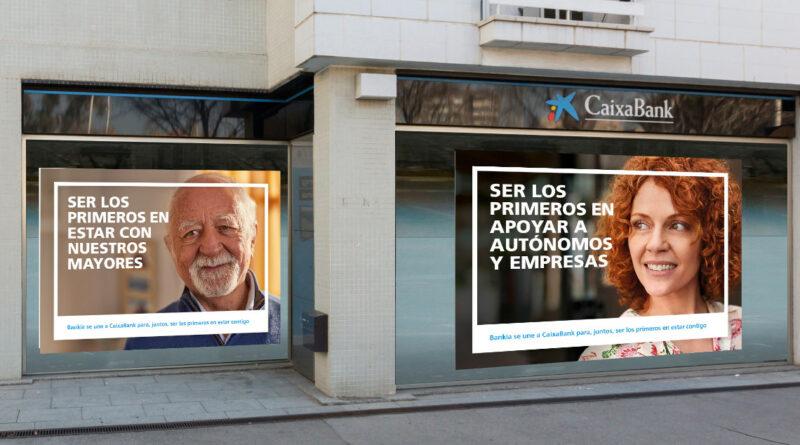 'Ser los primeros en estar contigo', la primera campaña de la nueva CaixaBank