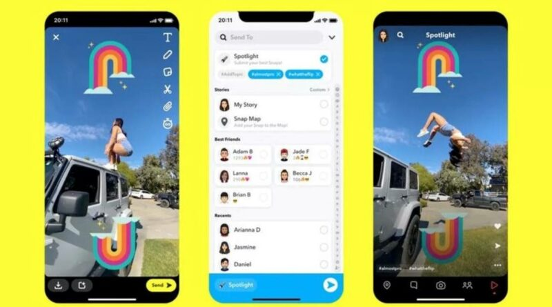 Spotlight, la nueva plataforma de entretenimiento de Snapchat