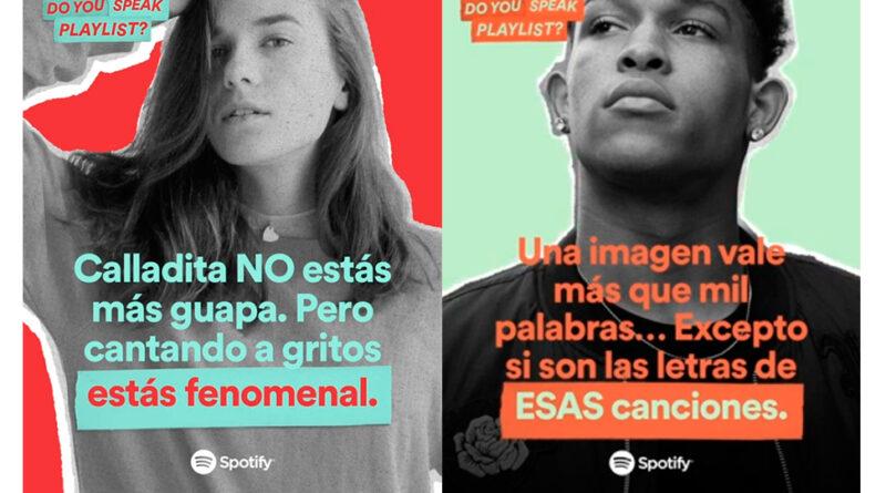 Spotify refuerza el papel de las 'playlists' en su última campaña
